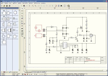 sPlan - очень простой и очень удобный инструмент для черчения электронных и электрических схем. sPlan создает...